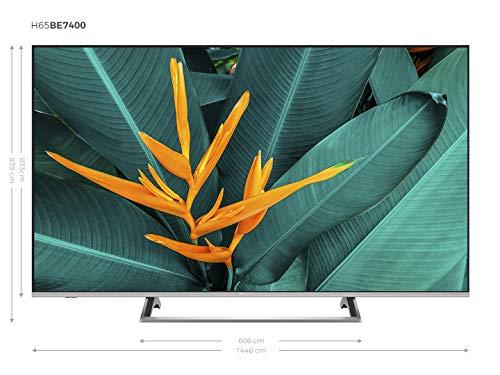 Hisense H65BE7400 - Smart TV ULED 65' 4K Ultra HD 3 Años Garantía