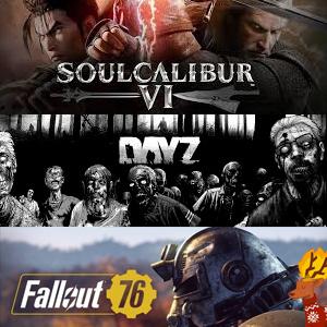 Juega gratis Xbox: Fallout 76,Soulcalibur VI y DayZ