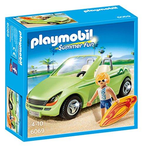 PLAYMOBIL - Surfista con descapotable