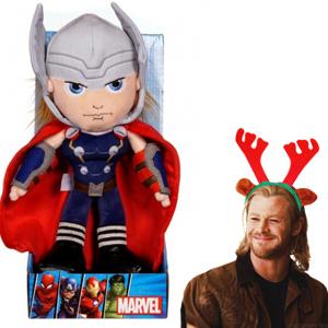 Peluche Thor 25cm (AlCampo)