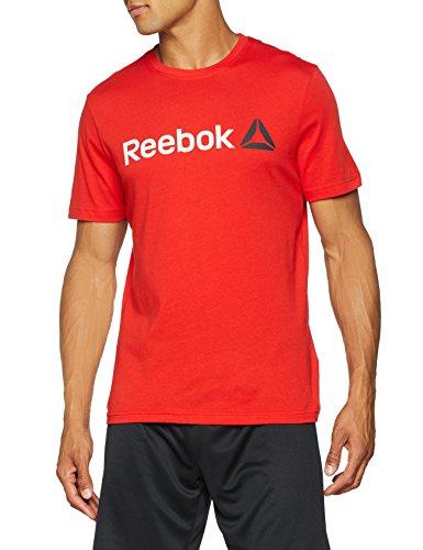 Camiseta para hombre Reebok Qqr Linear Read (Talla M)