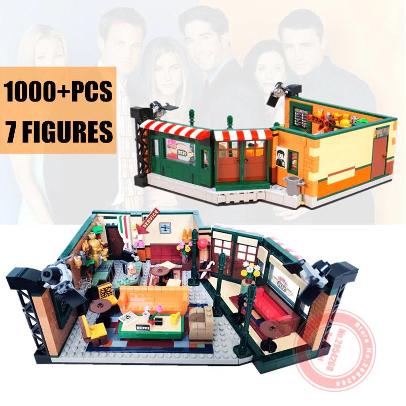 Imitación LEGO muy buena - CENTRAL PERK - FRIENDS (INCLUYE LOS PERSONAJES)