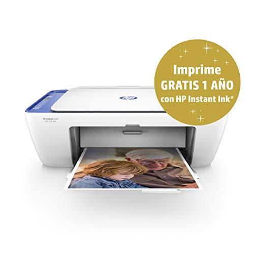 Impresora HP Deskjet 2630 + 1 año instant Ink