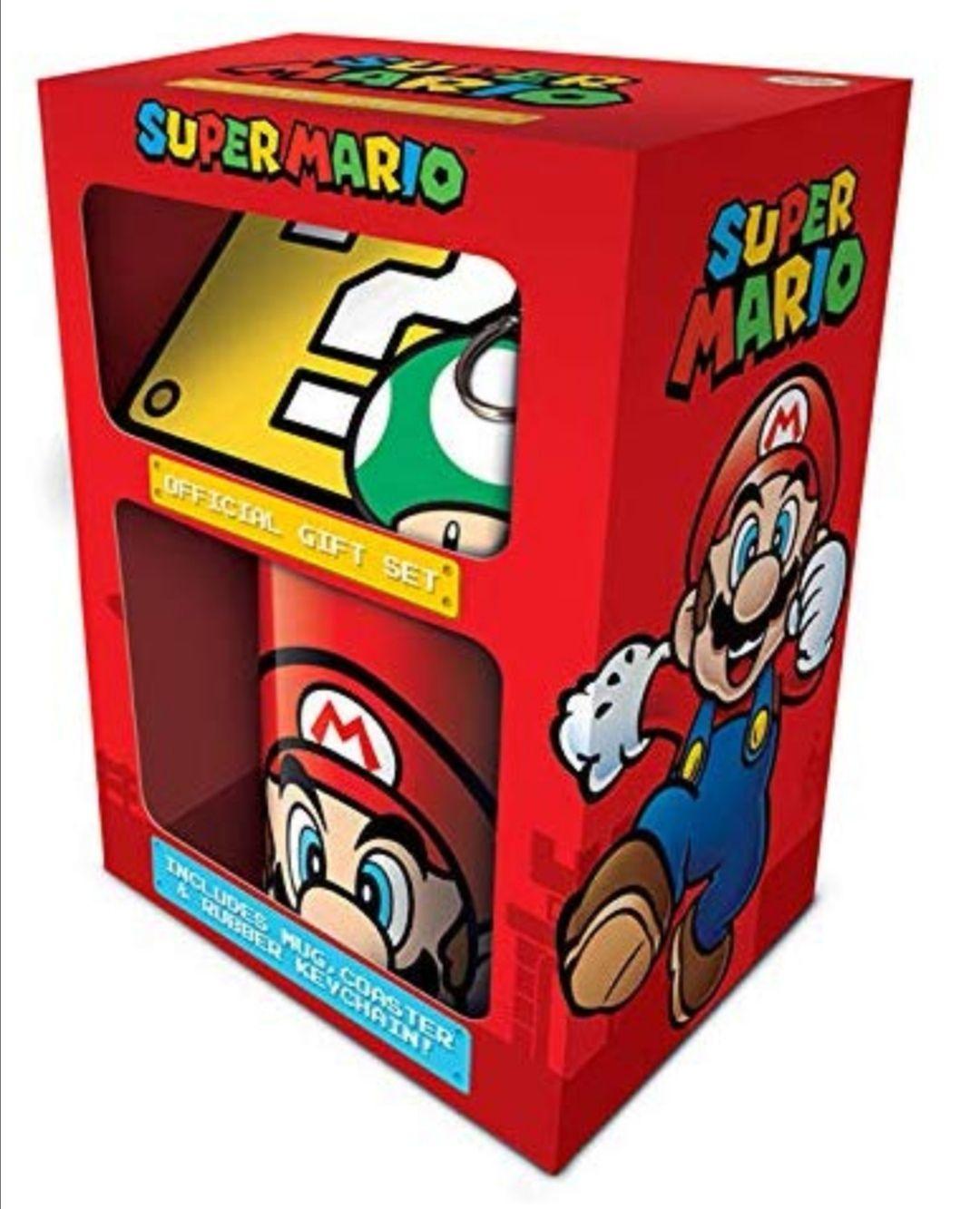 Super Mario - Caja Regalo