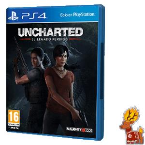 Uncharted: El legado perdido (PS4, Físico, AlCampo Vigo Coia)