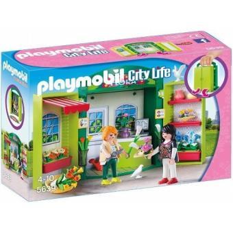 Playmobil - tienda de flores