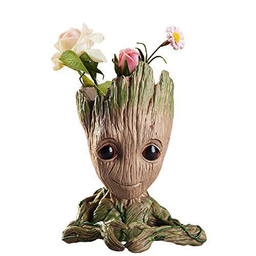 Maceta con forma de Groot, rebajada
