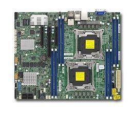 Supermicro X10DRL-CT Placa Base para servidor S-2011 R3 Dual intel series E5-2600 v3-v4
