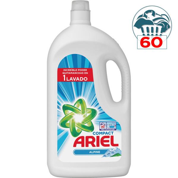 Segunda unidad 50% ARIEL Alpine detergente