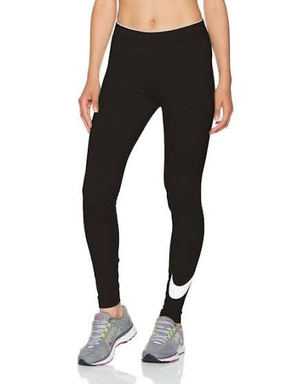 Nike Club Logo2 Pantalón, Mujer - Negro/Gris