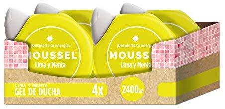 Moussel Gel Ducha Lima - Pack de 4 x 600 ml - Total: 2400 ml