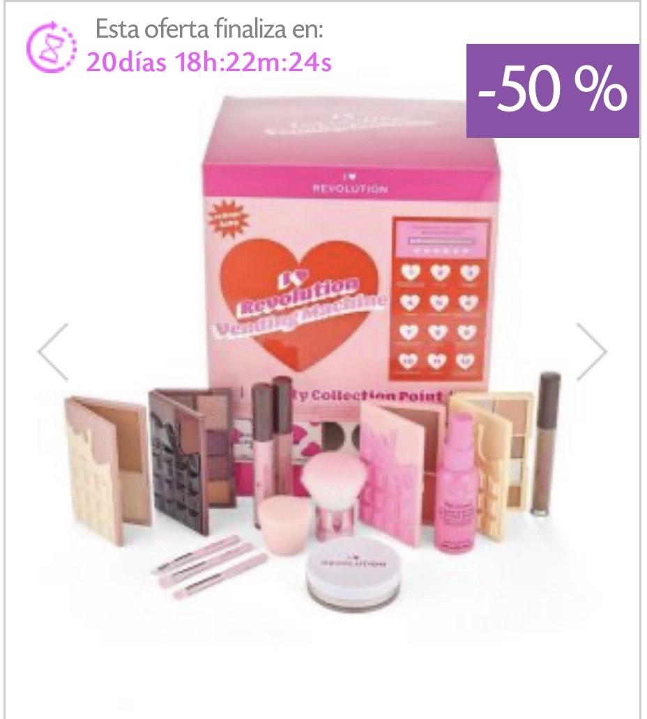 Set de productos de maquillaje de I Heart Revolution