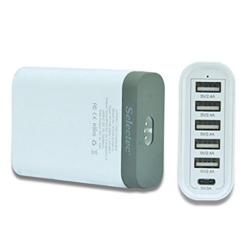Multi cargador USB QC 3.0 solo 8,99€