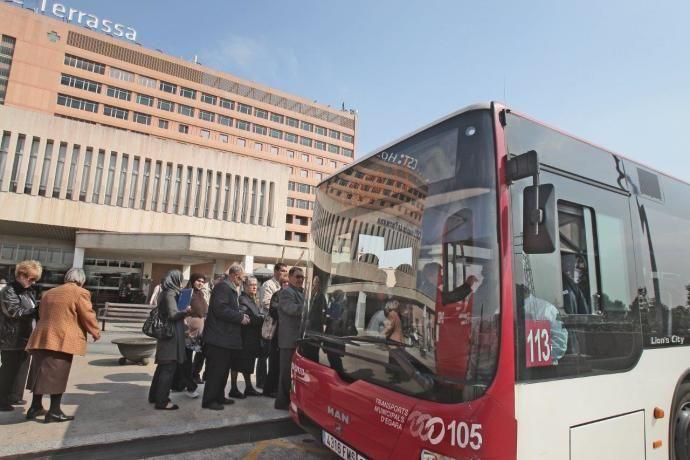 (Terrassa) Tarjeta del bus al hospital gratuita