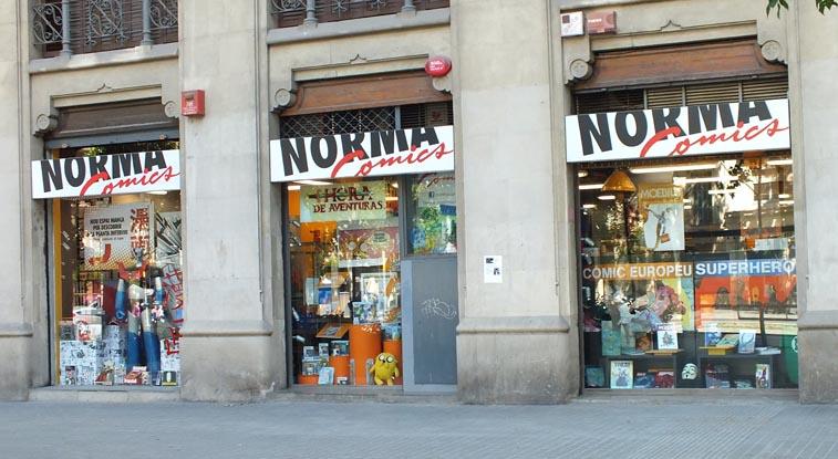 Descuento día del libro Norma comics