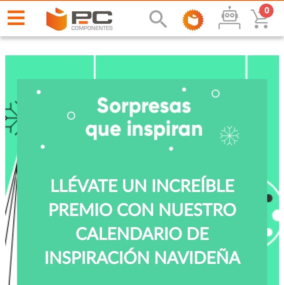 PC Componentes regalo navideño sorpresa CADA DÍA