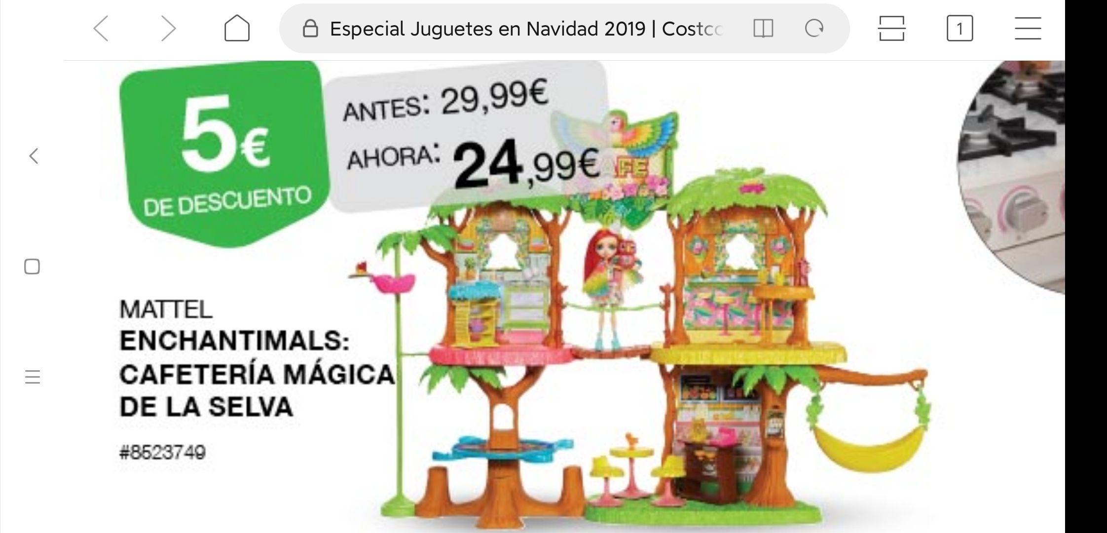 ENCHANTIMALS cafetería mágica de la selva (Costco Madrid y Sevilla)