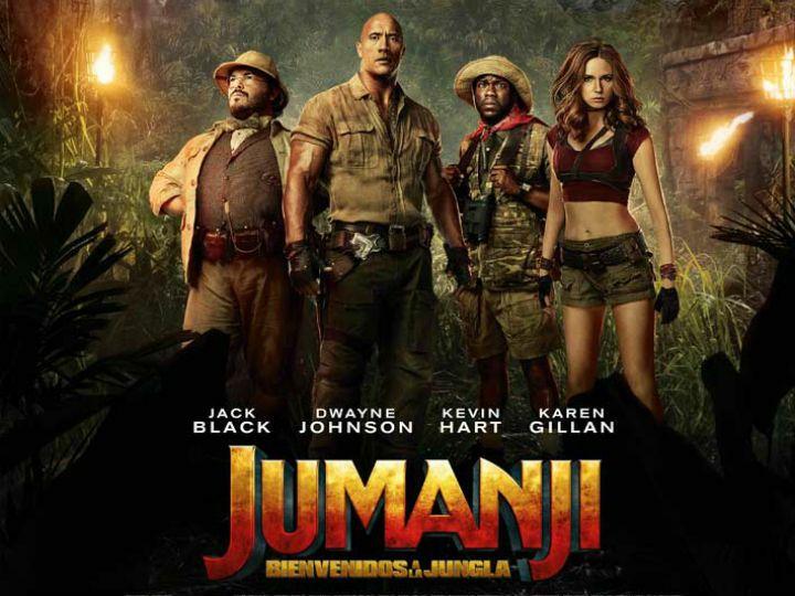 Jumanji Tarjetas de personajes (Con compra de entrada en cinesa)