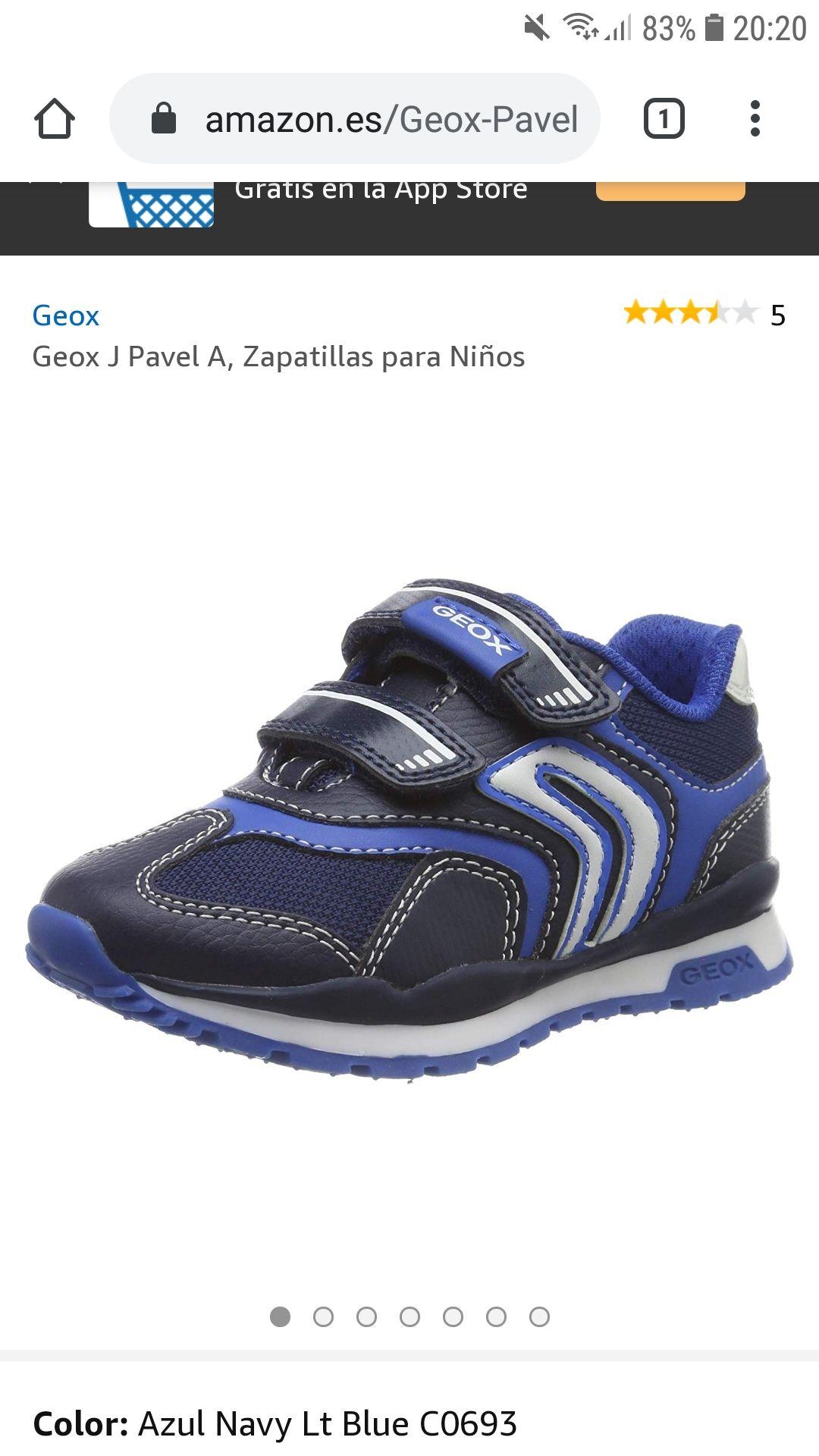 Zapatillas para niños de GEOX J. Pavel (desde la talla 24 a la 39)