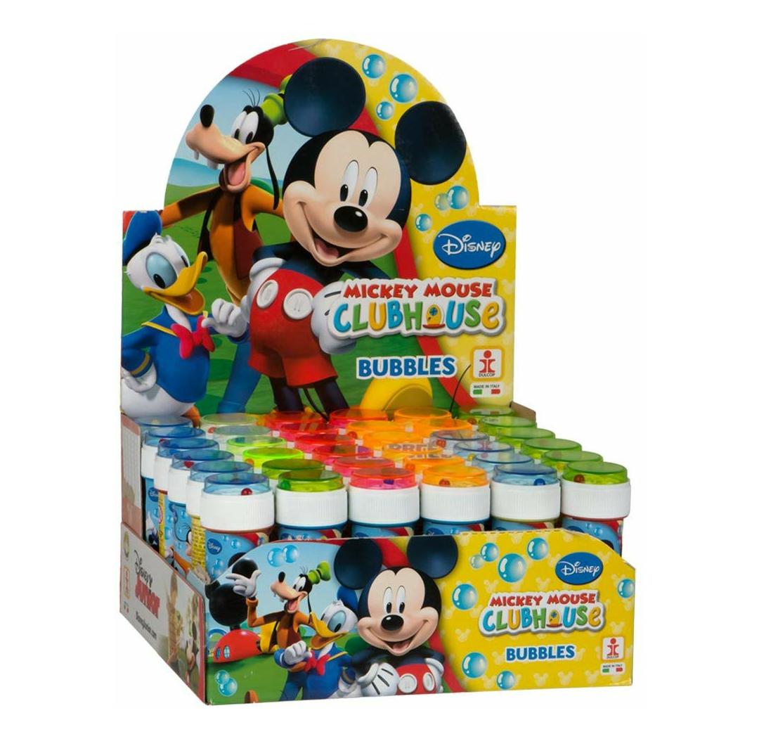 Caja de 36 Uds. De pomperos de Mickey Mouse