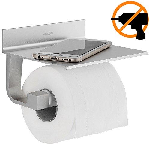 Portarrollo de papel higiénico sin clavos