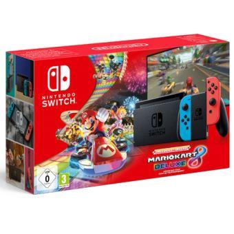 Nintendo Switch + Mario Kart 8 + revista por 287€ y PS4 Pro + lámpara PlayStation por 277€