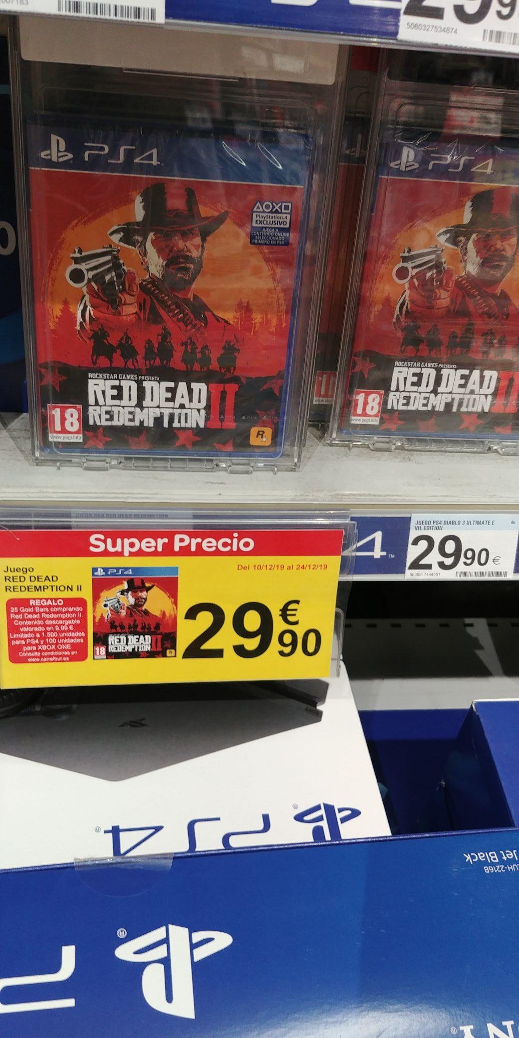 Red Dead Redemption II (Carrefour Almería)