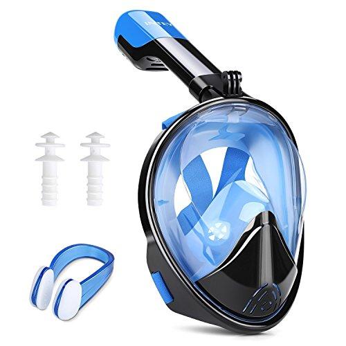 Máscara buceo con snorkel solo 10.5€