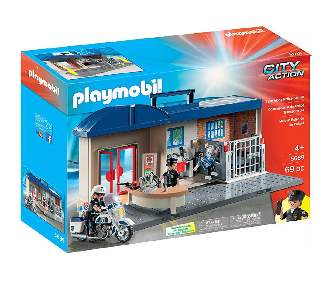 Playmobil - maletín comisaría