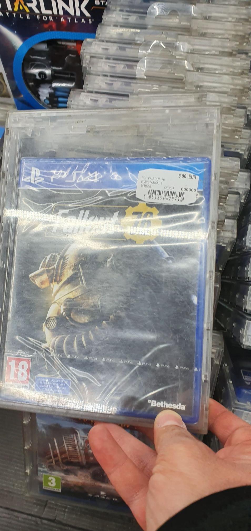 Fallout 76 ps4/xbox (mediamarkt sant Cugat del Valles)