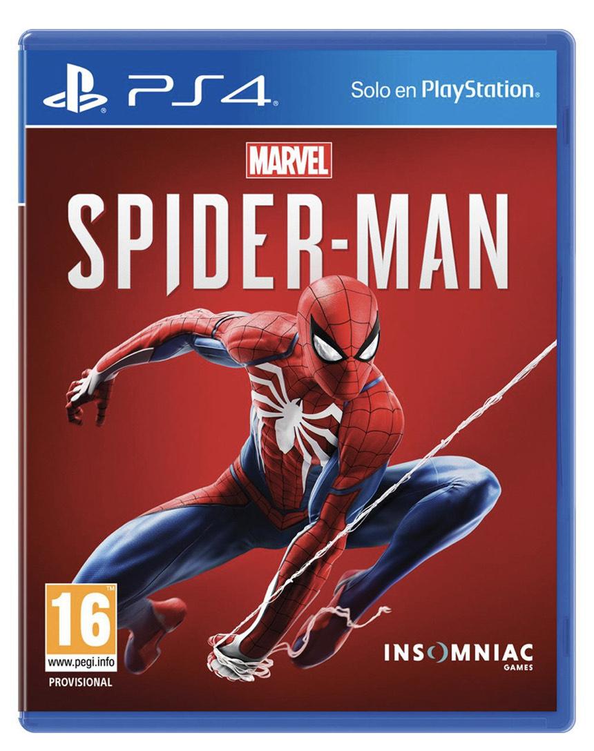 Spider-Man en Carrefour Ávila