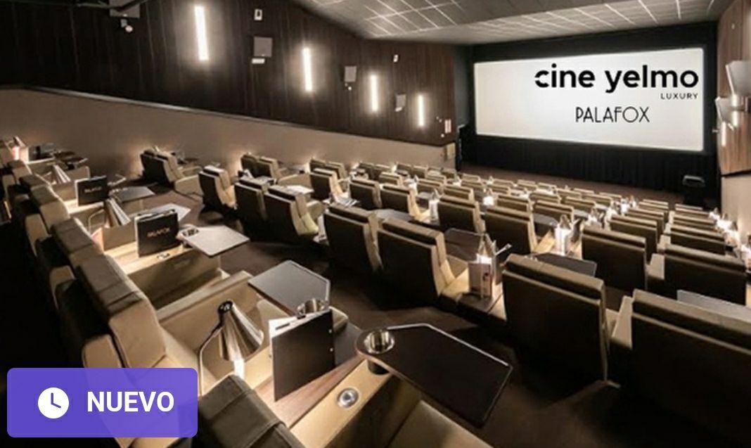 Yelmo cine luxury Palafox