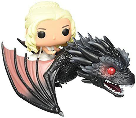 Funko Pop de Games of Thrones (Daenerys y Drogon)