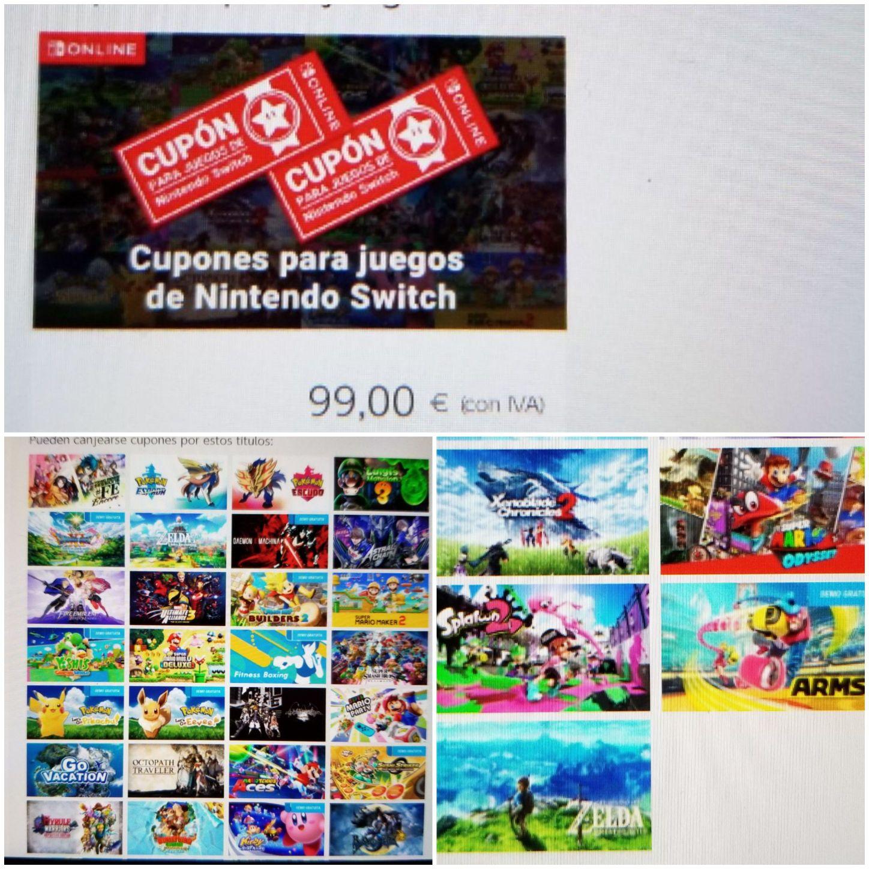 Suscripción anual Nintendo Switch