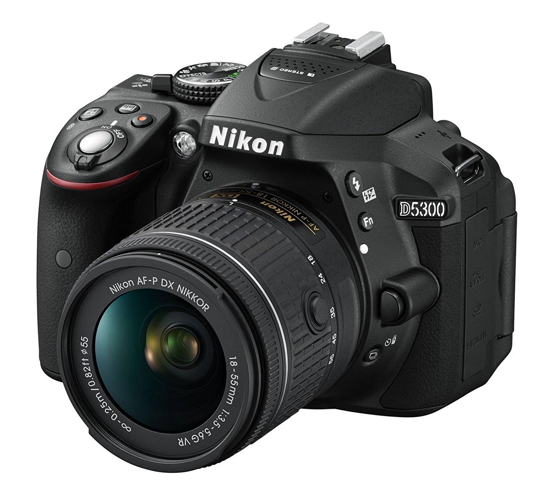 Nikon D5300 con Objetivo AF-P DX NIKKOR 18-55mm f/3.5-5.6G VR