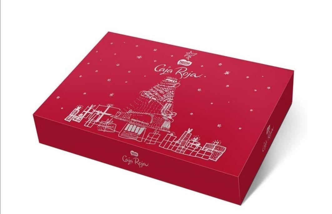 Nestlé Caja Roja Bombones De Chocolate Estuche Navidad - Caja edición limitada de 2Kg (220 unidades)
