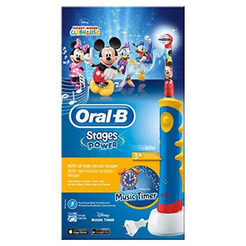 Cepillo eléctrico OralB d Mickey Mouse.