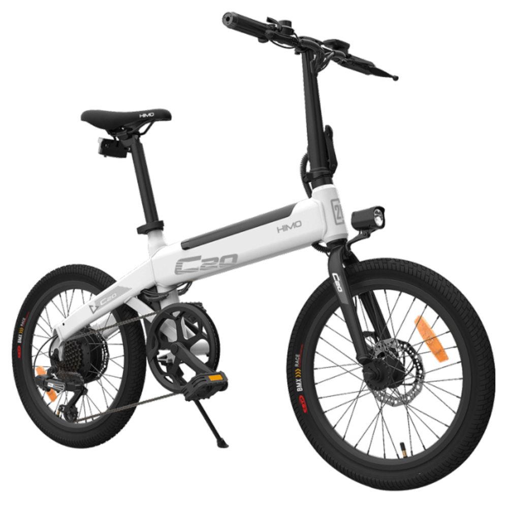 Bicicleta eléctrica Xiaomi Himo C20 con potencia de 250W y 80Km de autonomía
