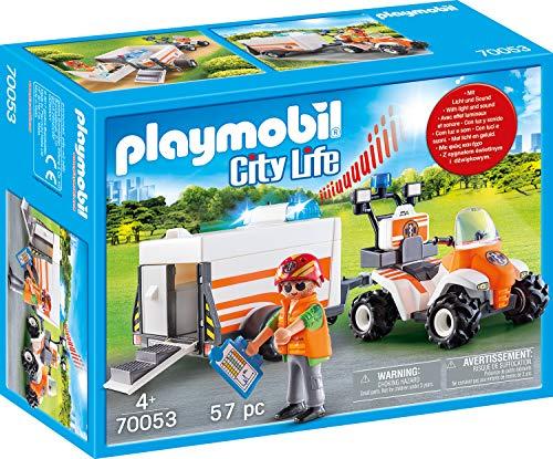 Playmobil - City Life Quad con Salvavidas Colgante