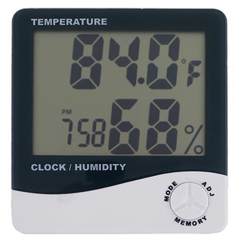 Termómetro Higrometro LCD  Medidor de Temperatura