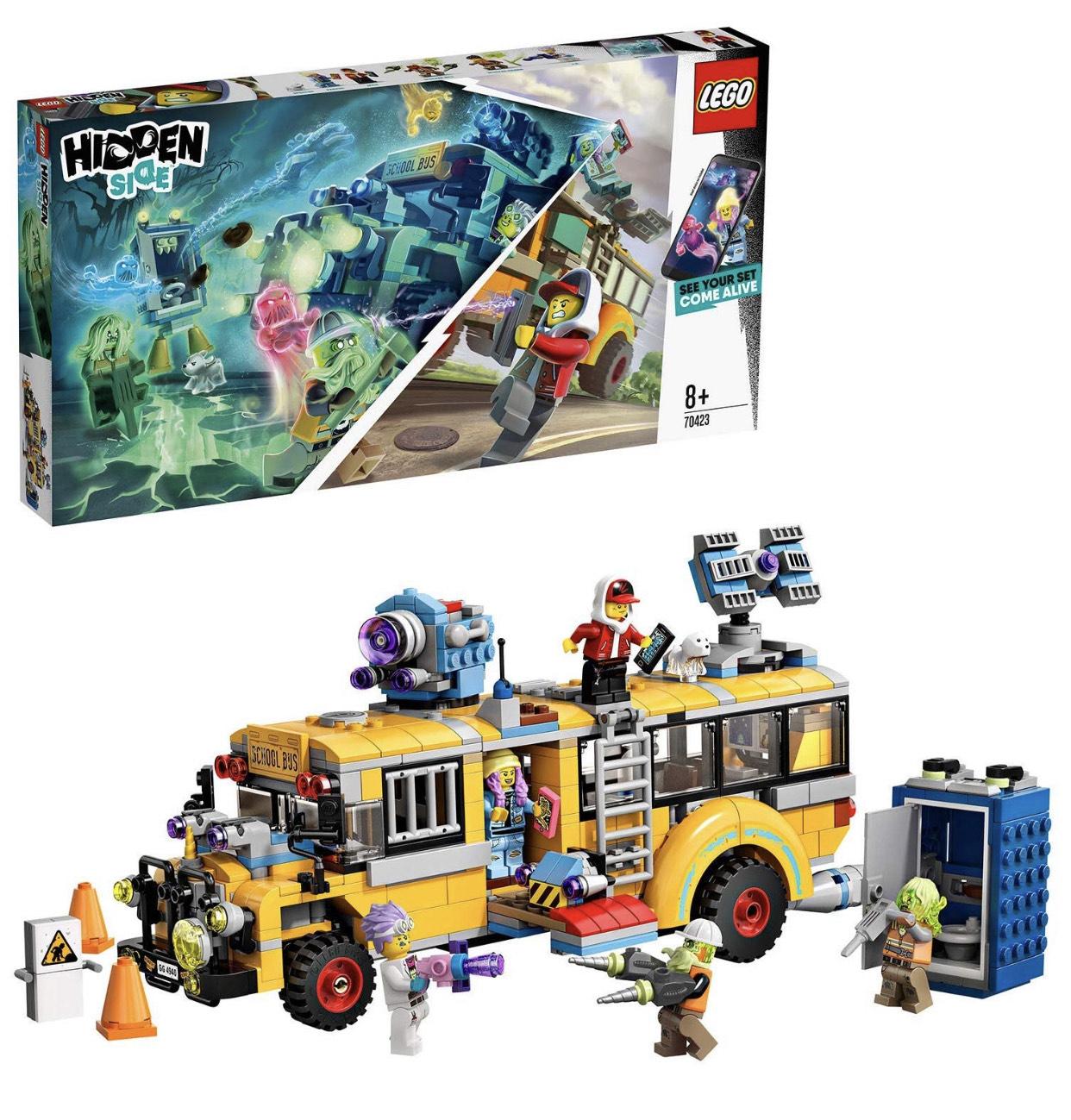 LEGO - Hidden Side Autobús de Intercepción (70423)