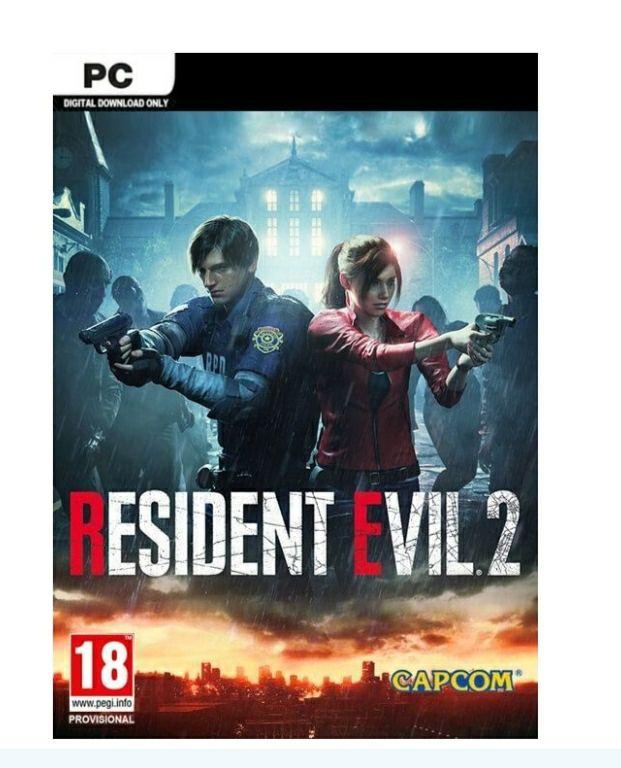 Resident Evil 2 Biohazard RE PC