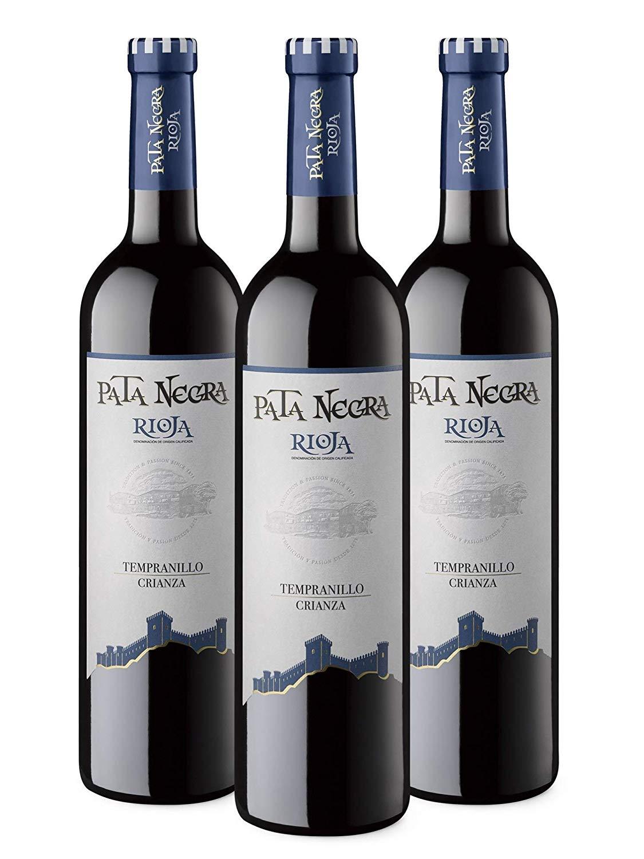 3 botellas Vino Tinto D.O. Rioja, Crianza de 18 meses