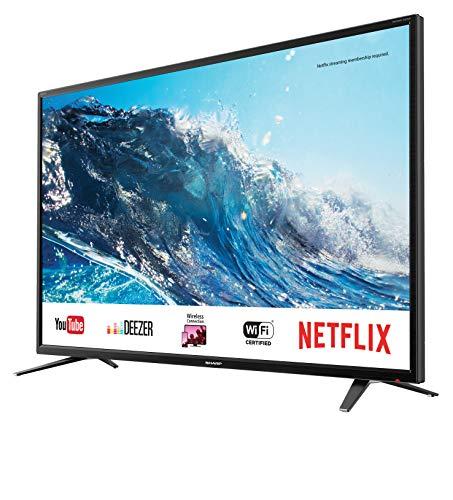 """(como nueva )Sharp LC-55UI7252E - UHD Smart TV de 55"""""""