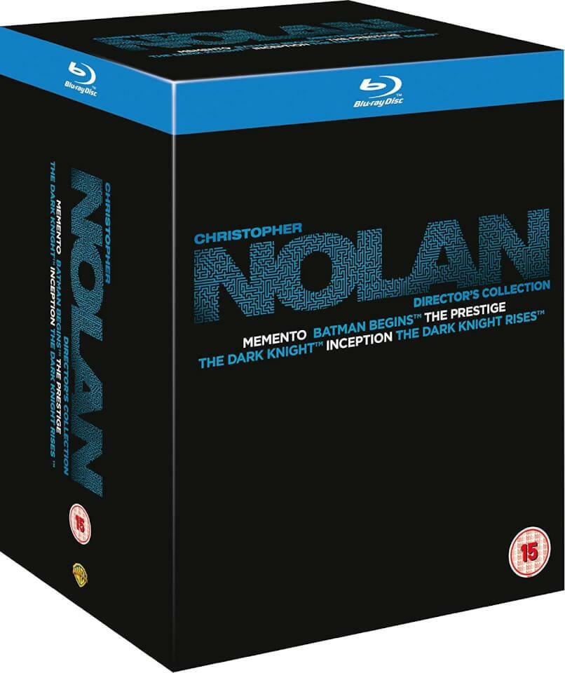 Colección de 6 pelis de Christopher Nolan