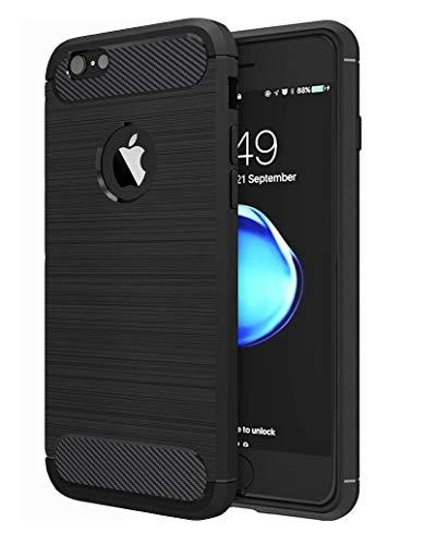 Funda HUSHCO iPhone 7/8. Protección Antideslizante [Anti-Rasguño] [Anti-Golpes]