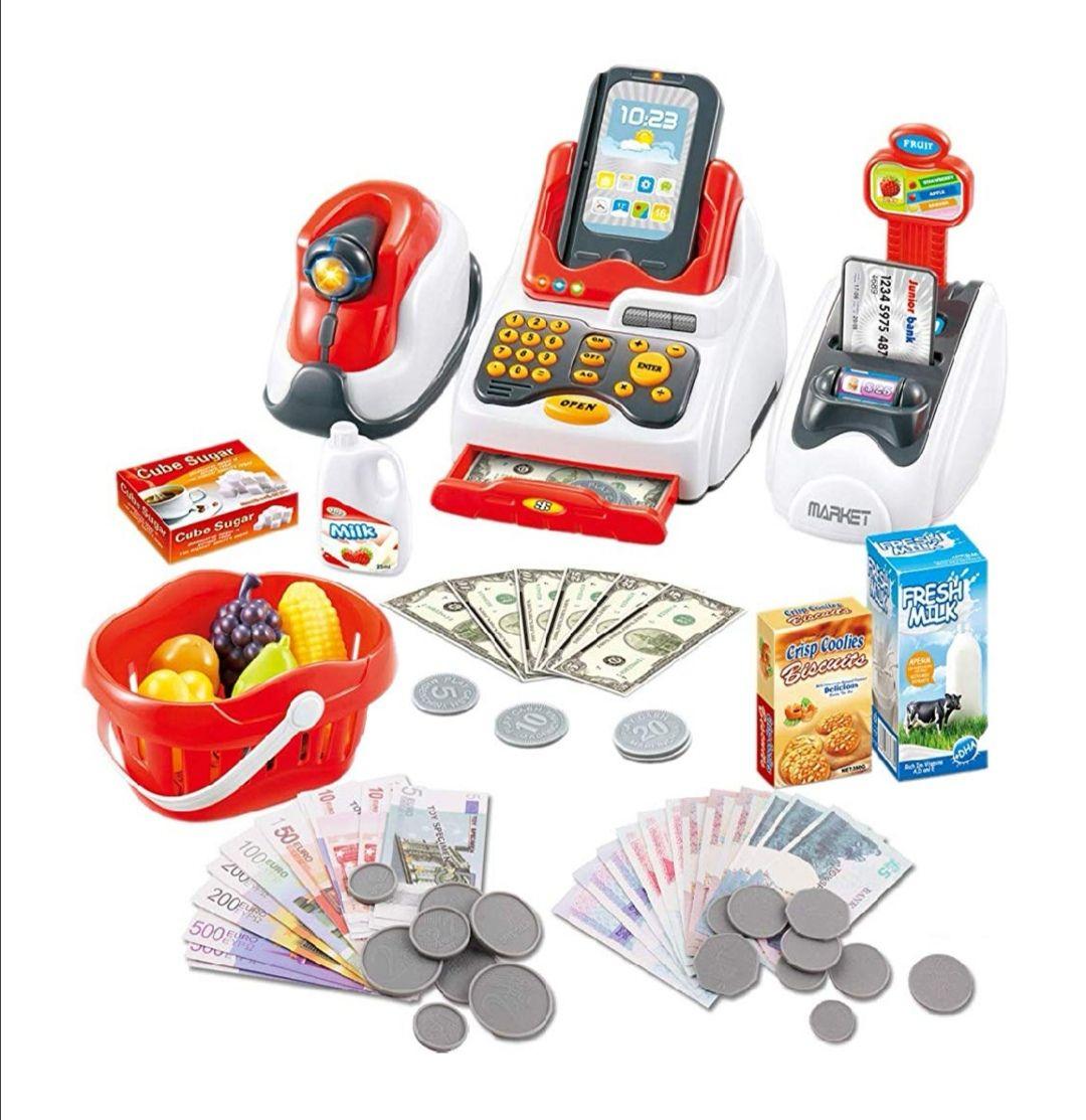 Conjunto de Accesorios de Tienda y Supermercado Infantil