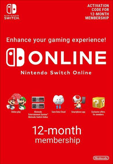 Nintendo Switch Online Suscripción - 12 Meses