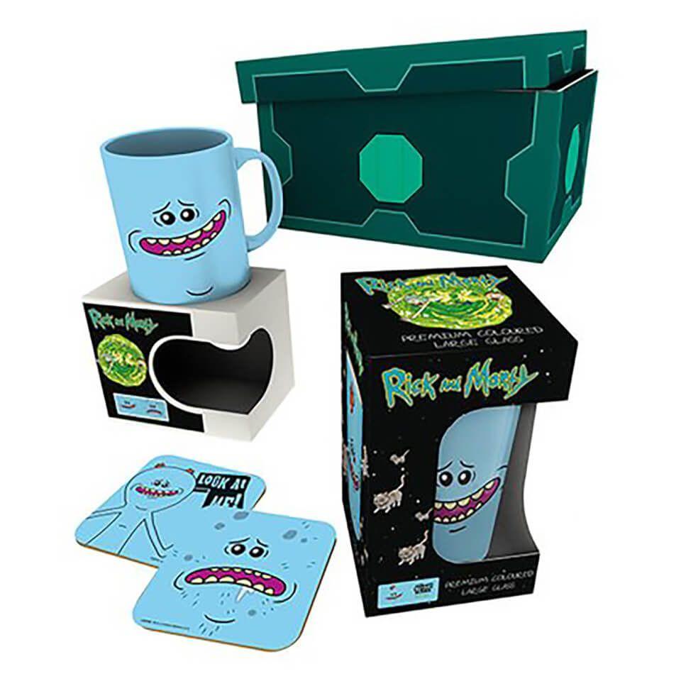 Caja regalo Meeseeks Rick y Morty