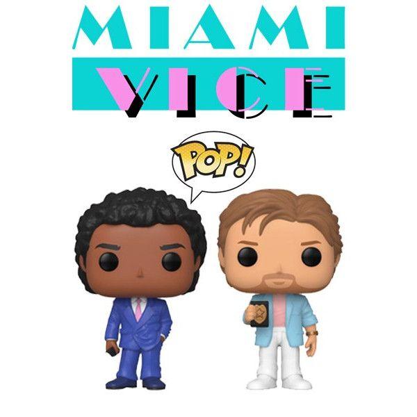 Sonny Corckett y Ricardo Tubbs Funko Pop! - Miami Vice (Corrupción en Miami)